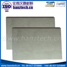 Tungsten carbide plate blanks