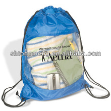 Promotional Clear-View Drawstring Backpack