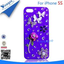 fashion & luxury diamond case for iphone 5
