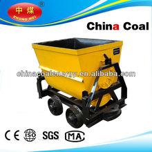 KFU series bucket-tipping mine car/mine rail wagon