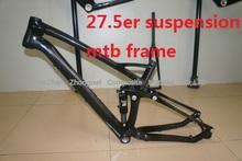 650B Full Suspension Carbon Frame Miracle New Design Full Carbon 27.5er Mountain Frame
