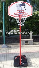 Movable basketball stand