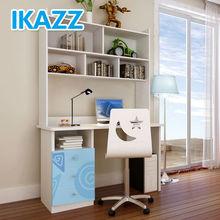 ikazz bedroom children study desk with bookshelf