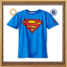 Custom 100% cotton super boy t shirt
