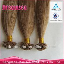 Fusion hair pre bonded flat tip human hair extension