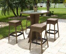 2014 New Design modern home restaurant lounge pvc outdoor bar furniture