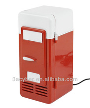 USB LED PC Desktop Portable Mini Fridge Refrigerator