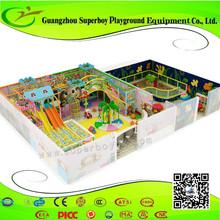Indoor Plastic Playground Soft Kids Play Gym 1411-8i