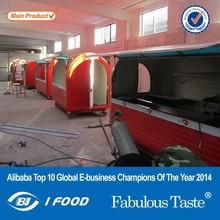 2014 mais novo food vans / caminhão de alimentos / carro móvel carrinho de lavagem