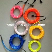 2.3mm Diameter Round Lighting EL Wire widely application