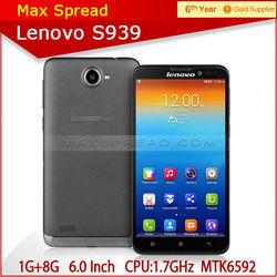 newest cheapest Lenovo S939 3G Smart phone 1280x720 HD MTK6592 Octa Core shenzhen mobile original