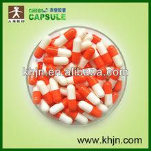 size 00 0 1 2 gelatin orange capsule