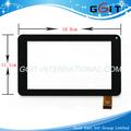 Reemplazo de pantalla táctil digitalizador de la pantalla de vidrio para el chino tableta táctil gk-024,18.6*11.1cm táctil