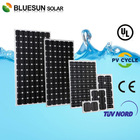 Bluesun good price mono 200w the planets of the solar system in china
