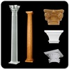 stone column cover VP-0107A