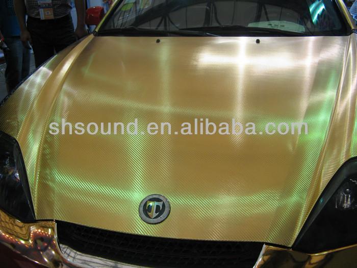 فقاعة عالية الجودة مجانا الألياف الكربونية لوحة للسيارة