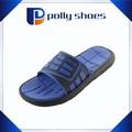 chegada nova pvc macio piercing chinelos para os homens