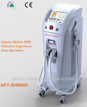Omni Laser 2013 newest painless experience SHR IPL hair removal