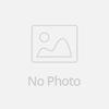 Making blue felt party bowler hat for uniform