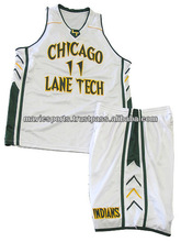 Custom Sublimated Basketball Uniform Basketball Shorts