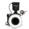 High CRI 95+ Led Ring Flash Light for Nikon DSLR camera, Multifunctional