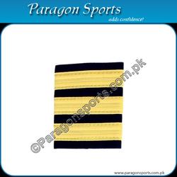 Pilot Epaulette Captain Epaulette Flight Officer Epaulette Three Gold Bar