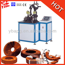 Separate speed controls for loading and winding Current Transformer Toroidal Winding Machine For CT YW300BM