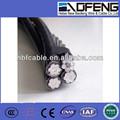 Fio flexível, cabo abc, alumínio arame torcido e alumínio condutor de aço- reforçado/condutor al