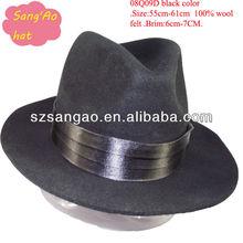 Wholesale fashion men dress fedora hat