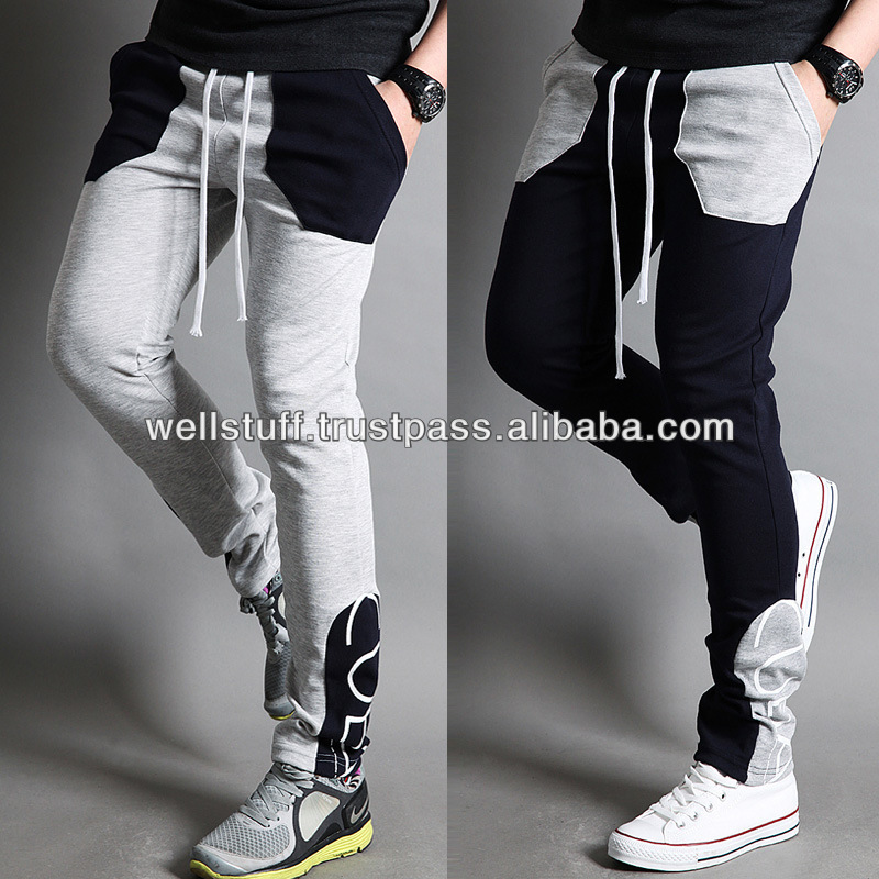 Color and Design, View Skinny jogger pants/men pants trousers slim fit ...