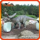 Animatronic dinosaur triceratops and eggs 3.5m long