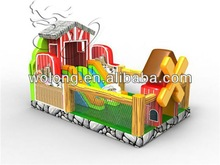 2014 inflatable Play Center, Country home inflatable jumper