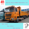 sell Shcaman loading 50 tons garbage tipper made in China