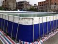 Intex piscina armação, Piscina armação, Rodada, Plástico retangular piscina