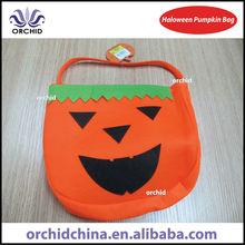 Halloween Pumpkin Candy and Gift Bag