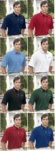 Custom design cotton pique embroider polo shirt