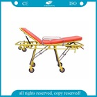 AG-4D Hot sale! Hospital durable painted steel ambulance stretcher