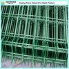EU and USA backyard metal fence (green RAL6005, white RAL9010) China manufacture