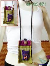 Thai Handmade Dog Call Phone bag Mobile bag