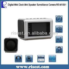 Mini Clock Camera /Music Loop Recording Secret Camera RE-MVS01