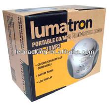 Cardboard Carton Box For CD Or MP3