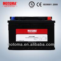 12v truck super maintenance free car battery