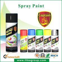 High gloss aerosol silver spray paint
