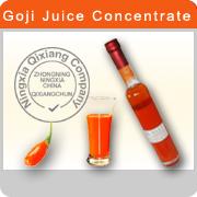 100% Certificate Organci Goji juice concentrates
