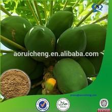 Natural fruit extract High quality Manufacturer Papaya extract powder 10:1; Papain 10000u/g-2000000u/g