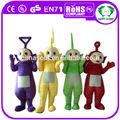 oi ce 2014 festa cosplay teletubbies mascote adultos fantasia teletubbies