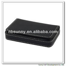 PU leather promotional cheap name card case