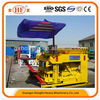 HongFa JQM-6A small scale hydraulic type mobile hollow brick making machine