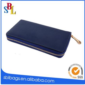 elegant credit card holder zipper wallet for ladies