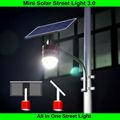 todo en uno 15w led lámpara de luz de calle solar precio